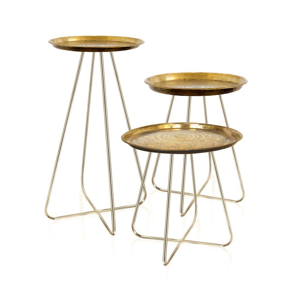 New Casablanca Table Brass by Mineheart