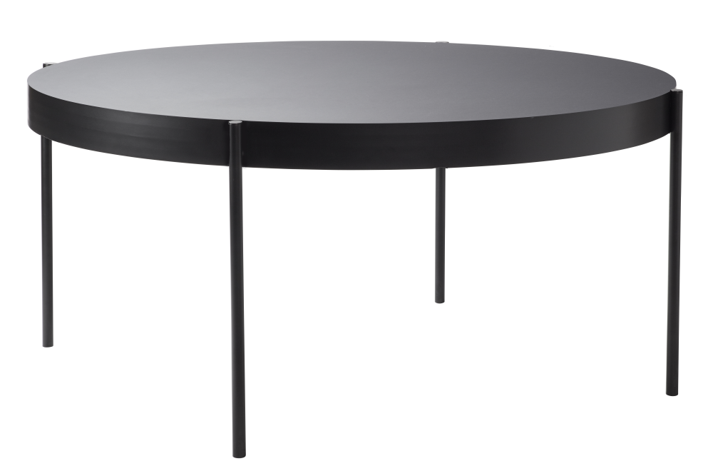 43 Black, 160cm,Verpan,Dining Tables,coffee table,end table,furniture,outdoor table,rectangle,table