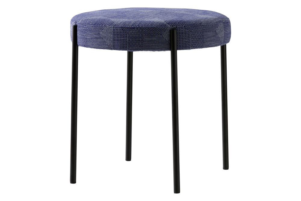 Dunes 21000 Cognac, 43 Black,Verpan,Stools,bar stool,furniture,stool