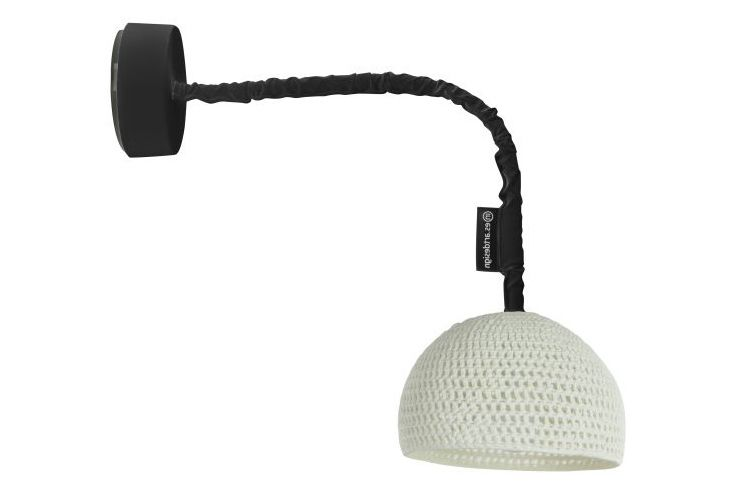 Black,in-es.artdesign,Wall Lights,audio equipment,lamp,light fixture,microphone