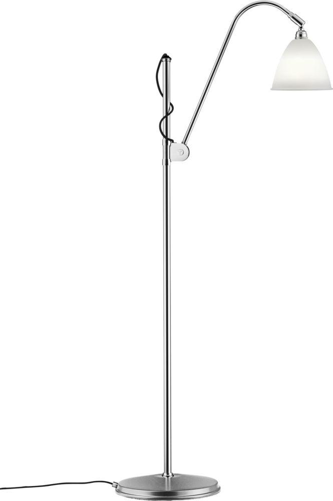 Bestlite BL3 Small Floor Lamp, Chrome Base by Gubi