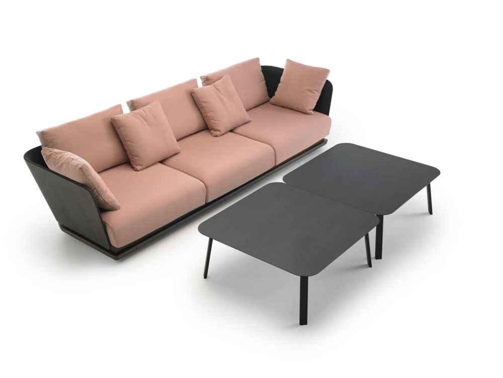 A. Cortese 3 Seater Sofa by Punt