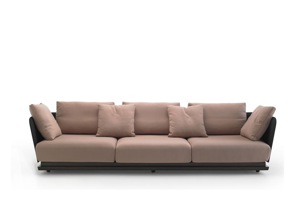 Steelcut 2 110, White Open Pore Lacquered On Oak,Punt,Sofas,beige,couch,furniture,leather,living room,room,sofa bed,studio couch
