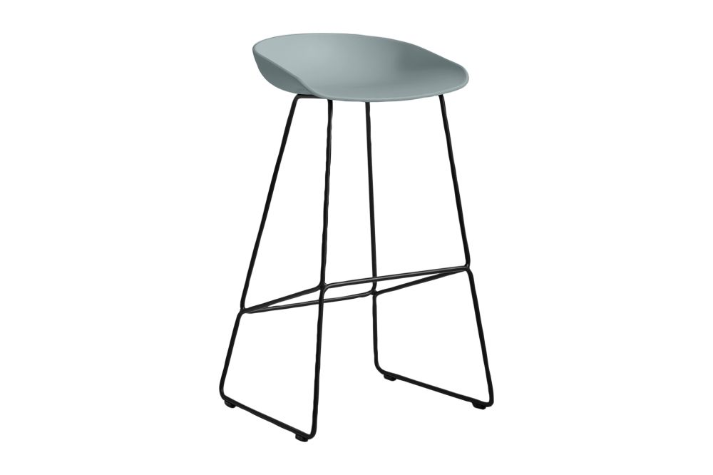 Metal Black, Plastic Black,Hay,Stools,bar stool,furniture,stool,table