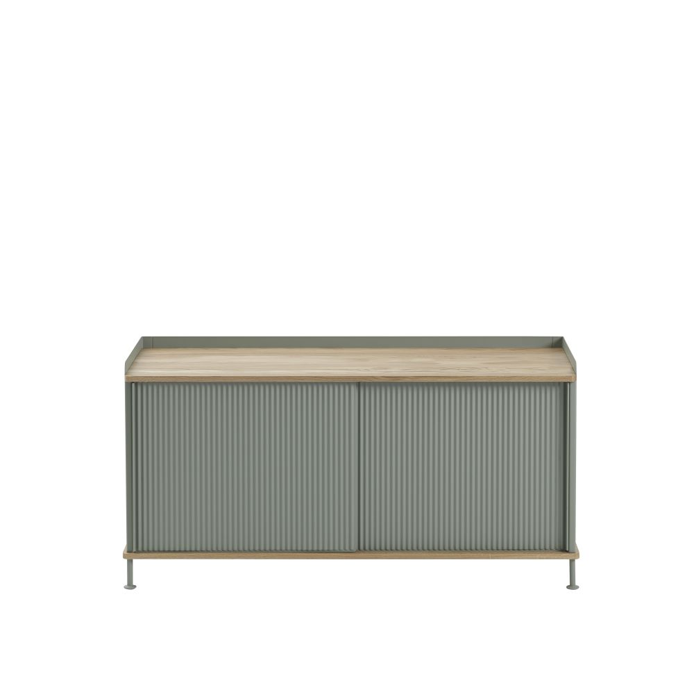 124.5 x  45 x 62, Black/Black,Muuto,Cabinets & Sideboards,chest,coffee table,furniture,outdoor table,rectangle,sideboard,table