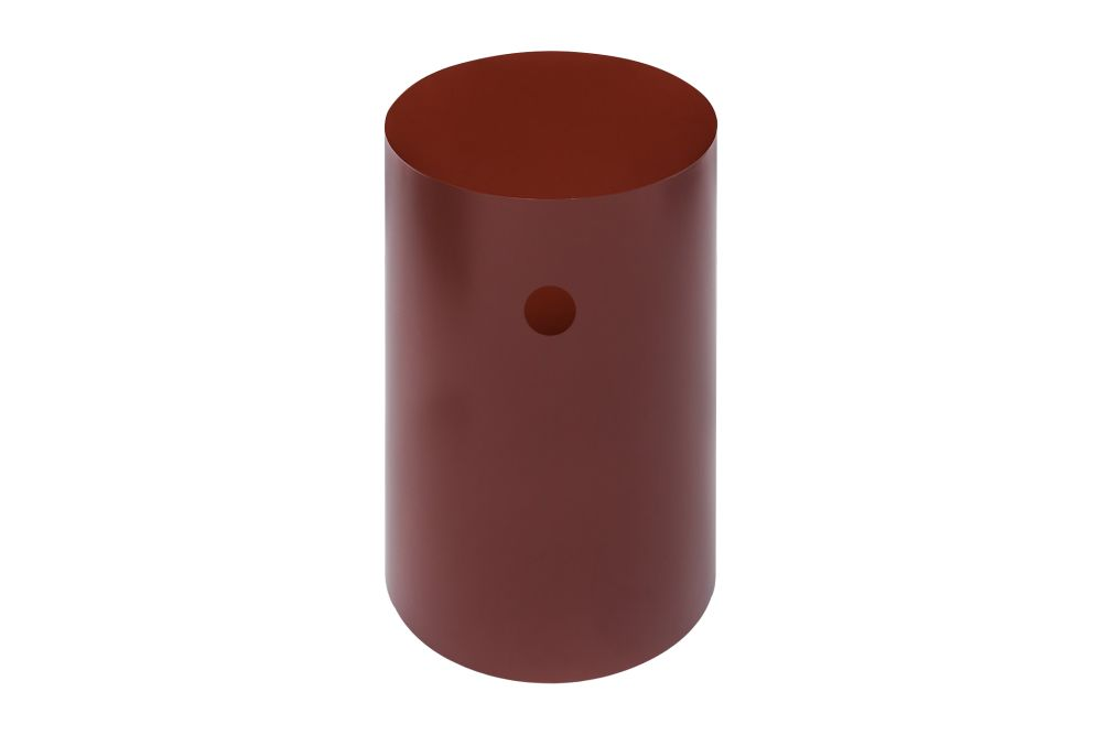 brown,cylinder,orange