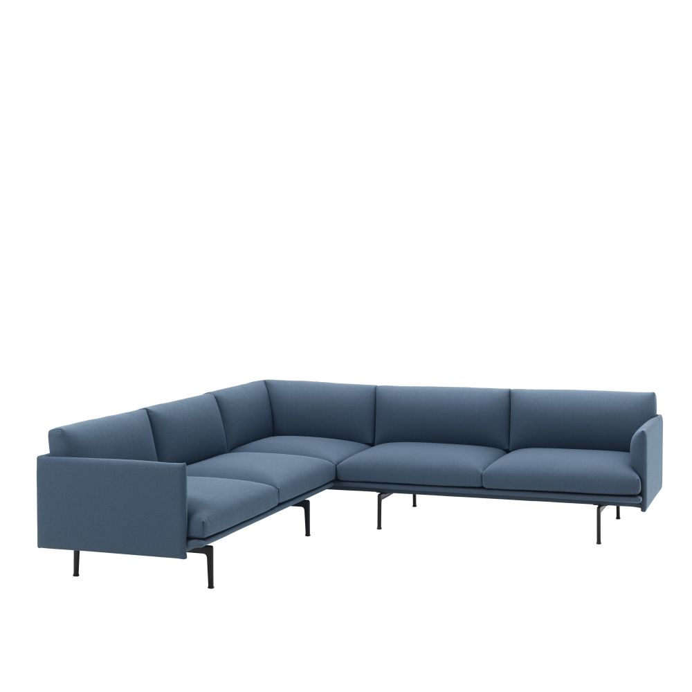 Outline Corner Sofa Remix 2 113 by Muuto | Clippings