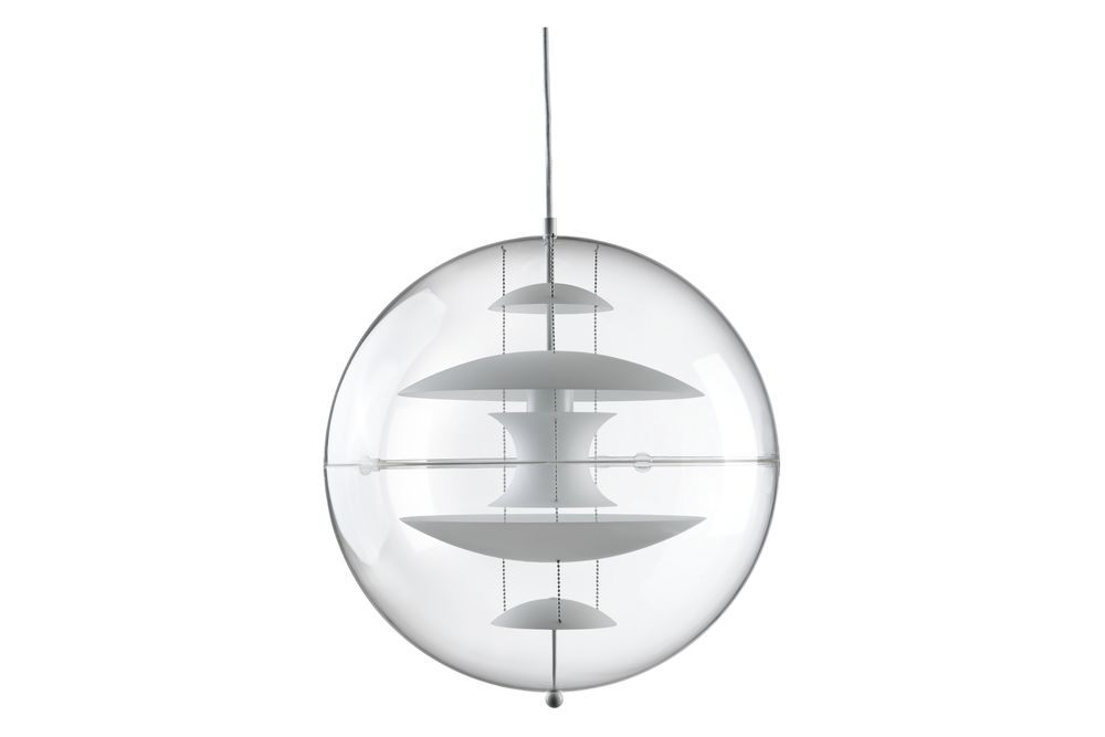 VP Globe Glass Pendant Light by Verpan