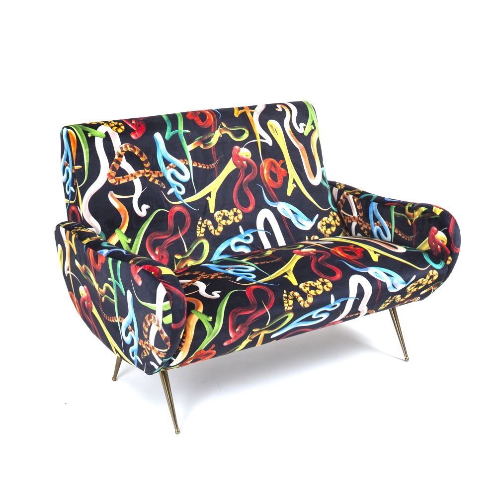 Toiletpaper 2 Seater Sofa by Seletti