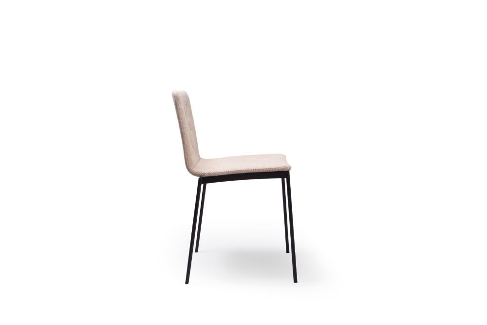 White Textured Metal, Valencia Amethyst,Punt,Dining Chairs,beige,chair,furniture