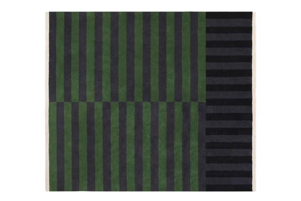 Verdure,Hem,Rugs,brown,green,line,pattern,teal