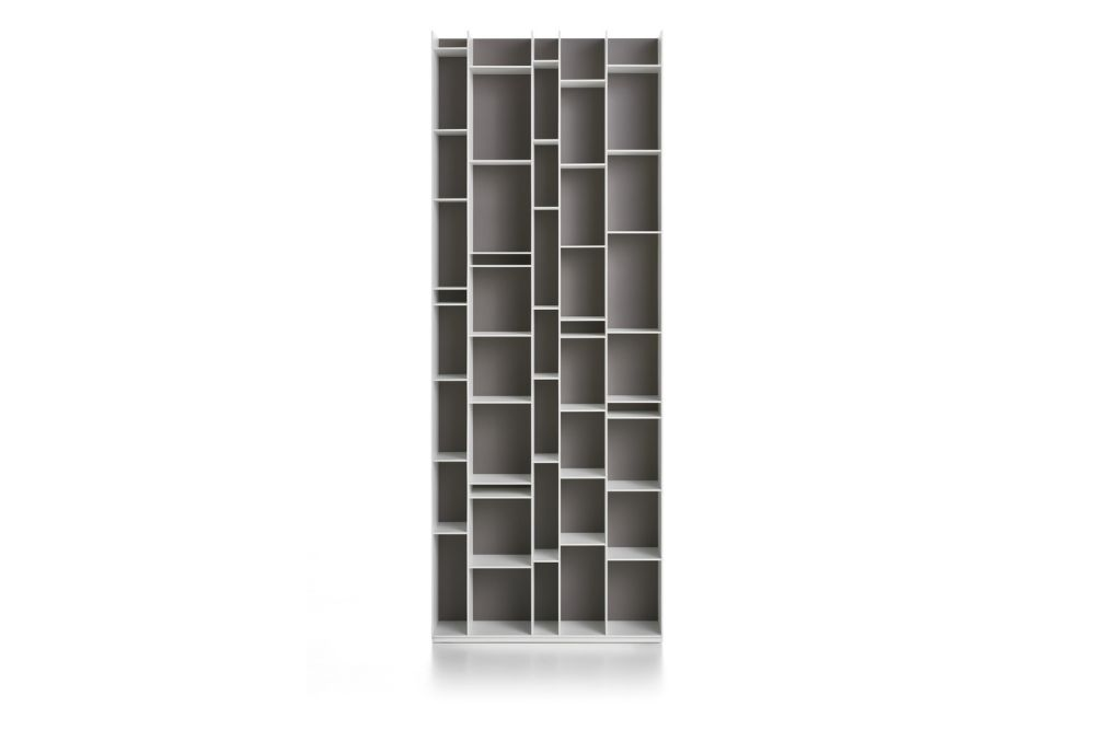 White,MDF Italia,Bookcases & Shelves,furniture,shelf,shelving