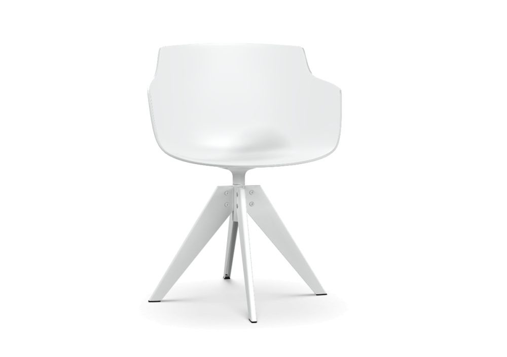 White & Matt White,MDF Italia,Dining Chairs,chair,furniture,lamp,lighting,product,table,white