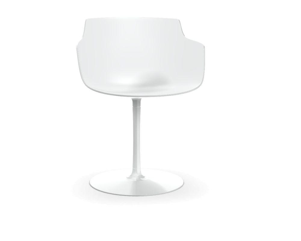 Black Shell & Graphite Grey Frame,MDF Italia,Office Chairs,glass,lamp,light fixture,lighting,white