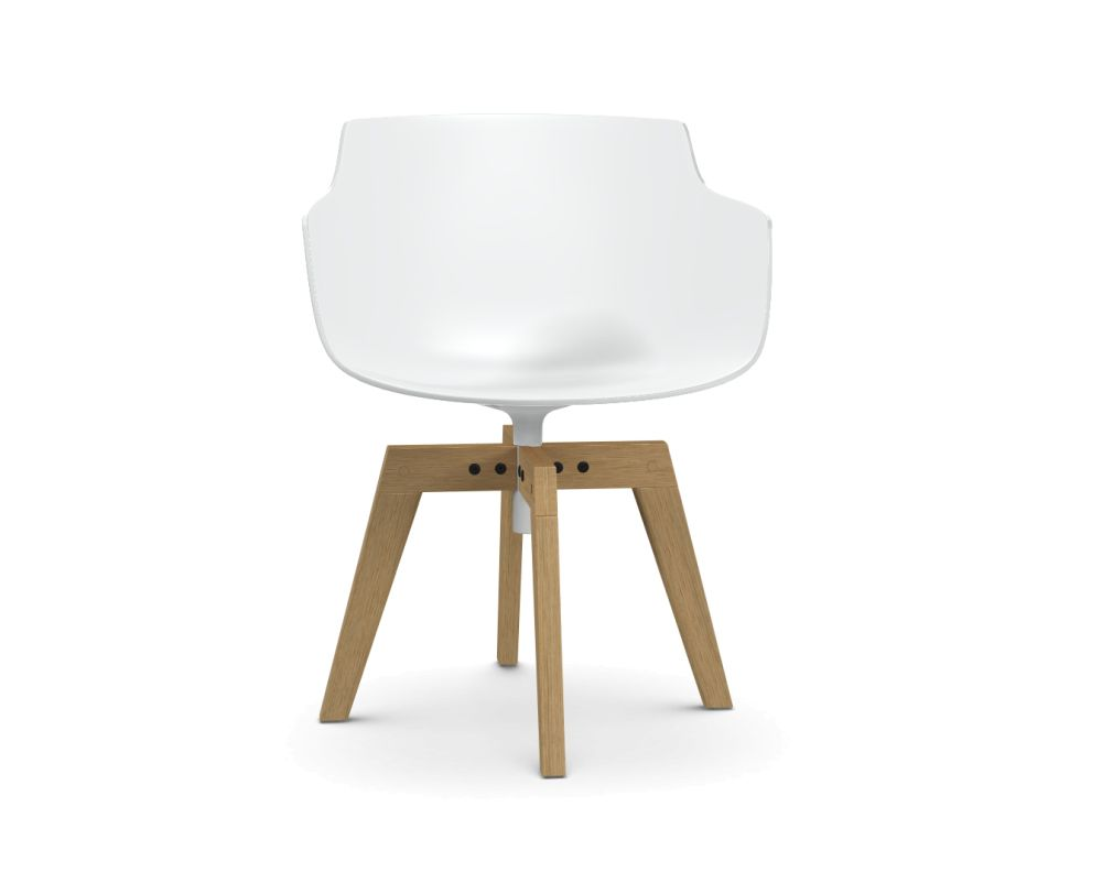 Natural Oak, White,MDF Italia,Office Chairs,chair,design,furniture,table,wood