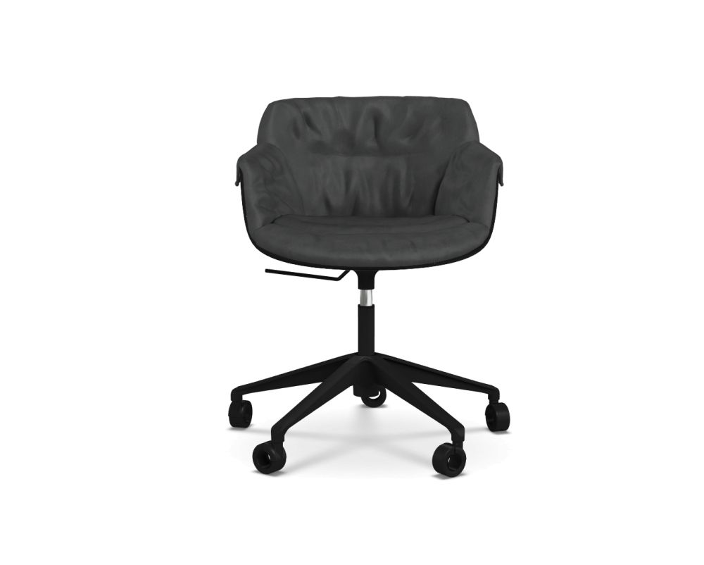 Maia_Avorio_R220_Col._2-2, White,MDF Italia,Office Chairs,black,chair,furniture,line,office chair,product