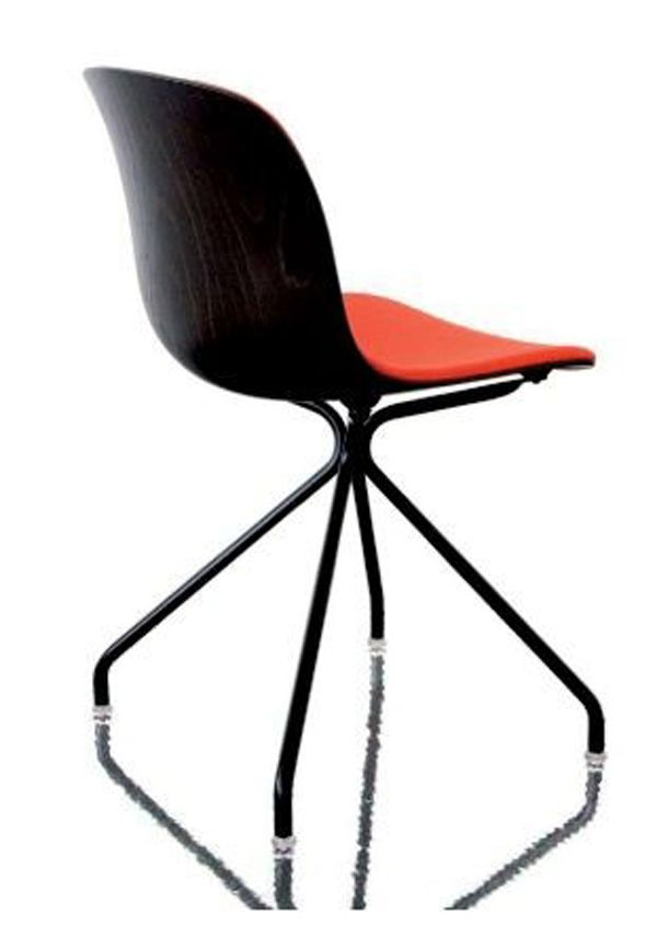 Troy Chair - 4 Star Base with Front Cover by Magis Design