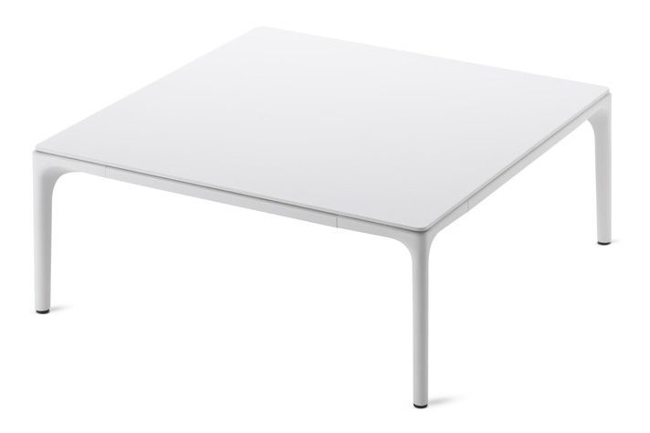 White Resin, White, 75x75cm, 30cm,MDF Italia,Coffee & Side Tables,coffee table,end table,furniture,outdoor table,rectangle,table