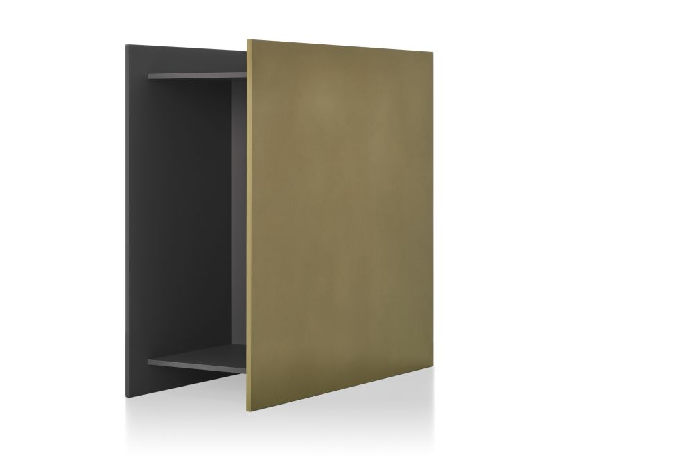 White Frame & Reconstructed Panel,MDF Italia,Bookcases & Shelves,brown,door,furniture,wall