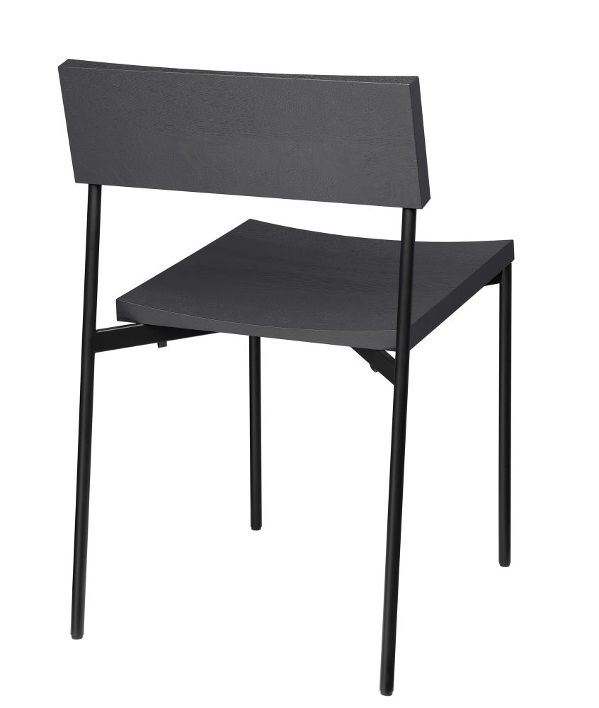 Jet Black Stained Laquered, Oak,e15,Dining Chairs,chair,furniture,outdoor table,table