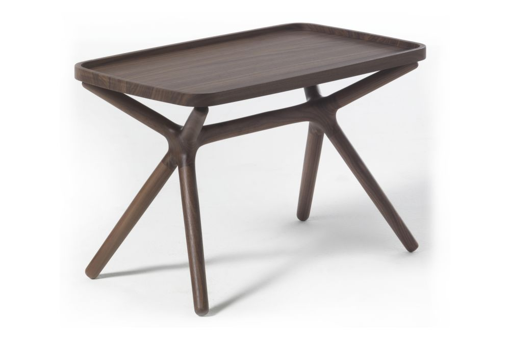 Canaletta Walnut,Porada,Coffee & Side Tables,coffee table,end table,furniture,outdoor table,stool,table