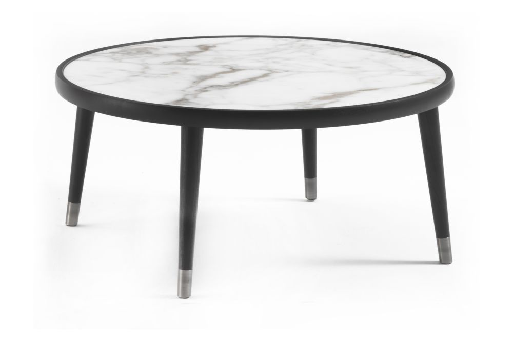 Natural Ash, Sahara Noir, 80cm,Porada,Coffee & Side Tables,coffee table,end table,furniture,outdoor table,table