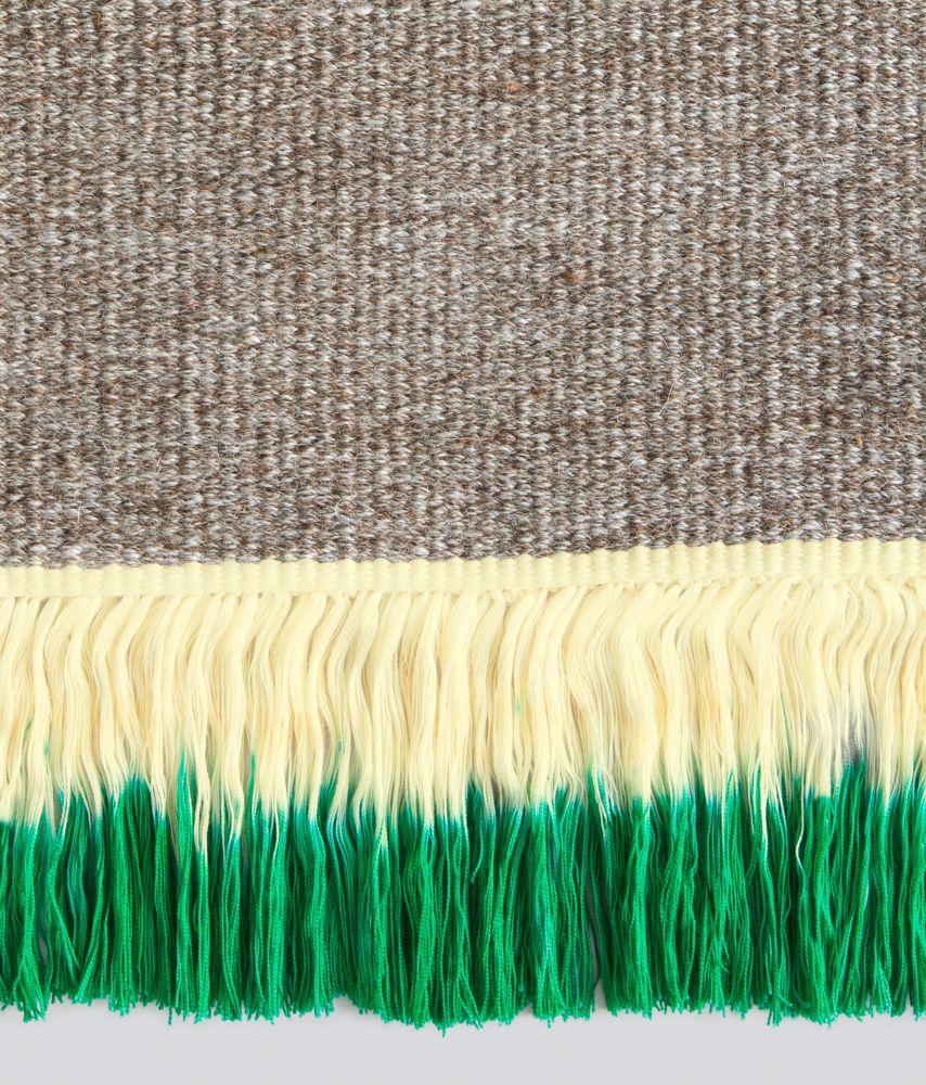0016,Moroso,Rugs,fur,green,teal,turquoise,wool,woolen