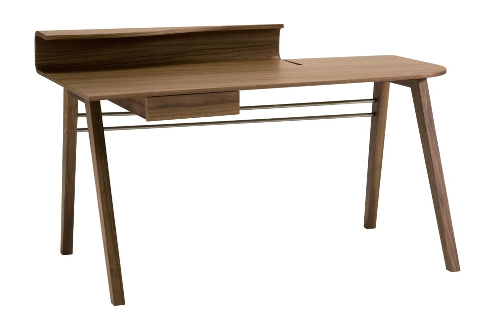 Canaletta Walnut,Porada,Office Tables & Desks,desk,furniture,rectangle,table,writing desk