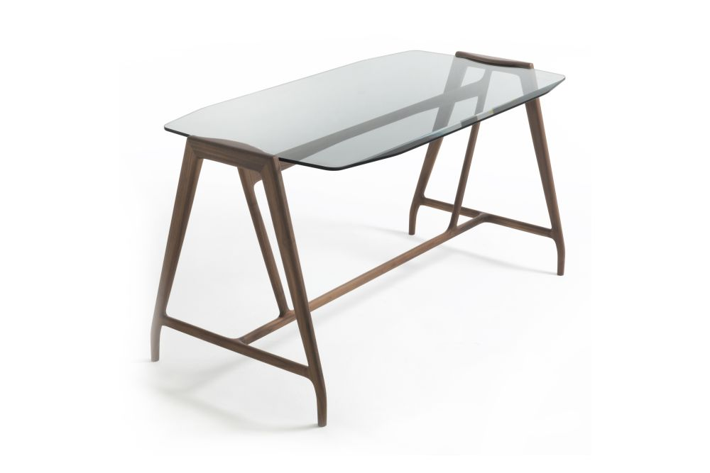 Canaletta Walnut,Porada,Office Tables & Desks,desk,furniture,table