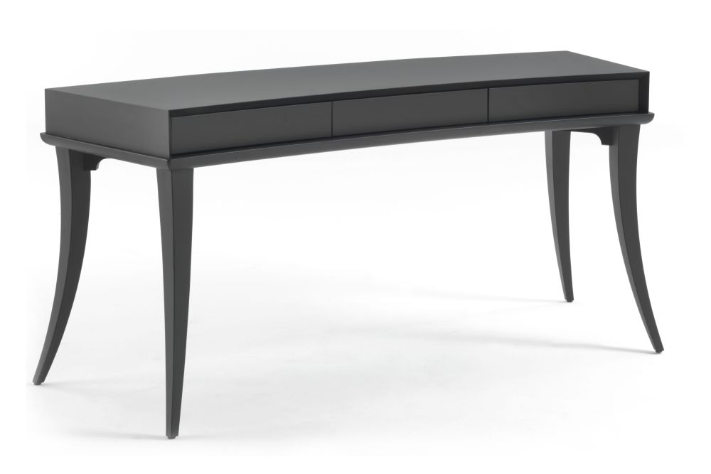 Matt Open Pore Iron Ral 7011,Porada,Office Tables & Desks,desk,end table,furniture,outdoor table,rectangle,sofa tables,table,writing desk
