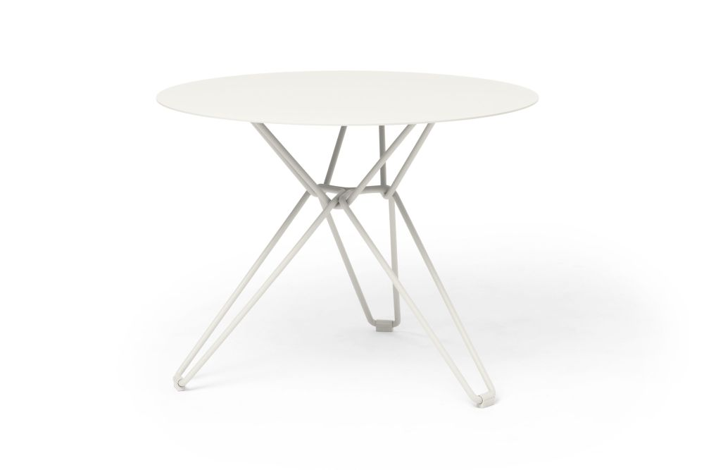 White - RAL 9003, White - RAL 9003,Massproductions,Dining Tables,coffee table,end table,furniture,outdoor table,table