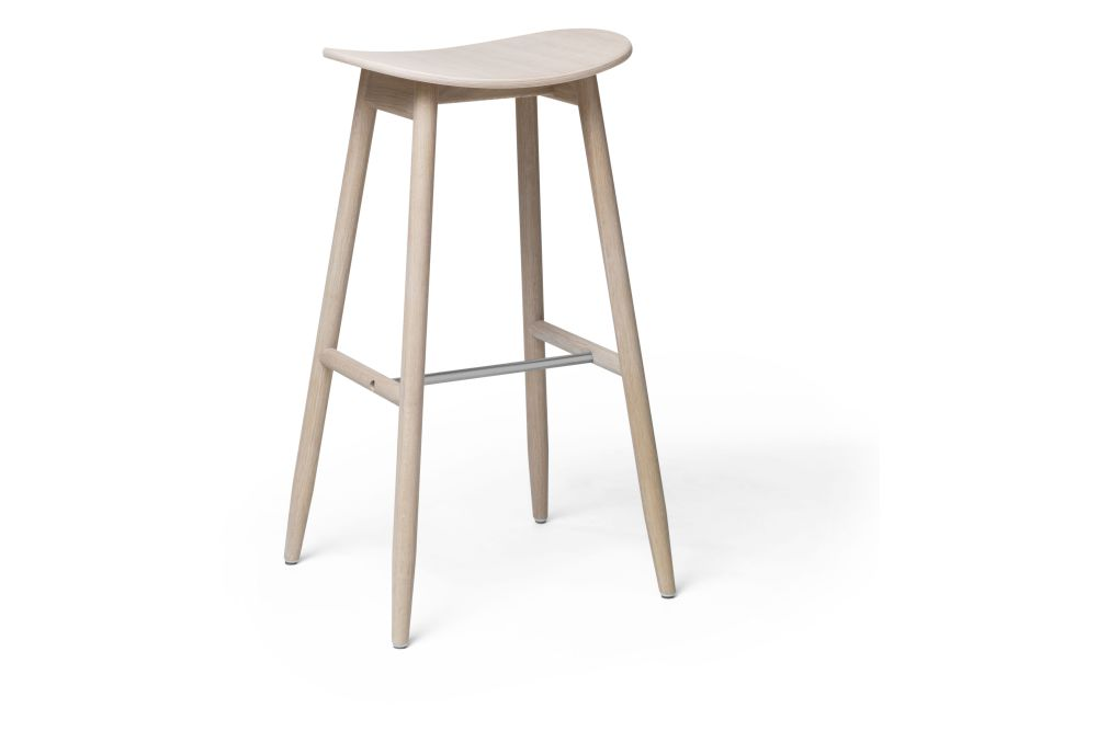 Red Lacquered Beech, 65cm,Massproductions,Stools,bar stool,furniture,stool,table