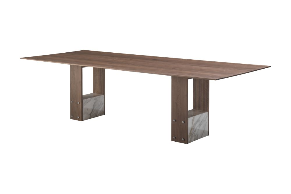 Canaletta Walnut, 220cm,Porada,Dining Tables,coffee table,furniture,line,outdoor table,rectangle,table,wood,wood stain
