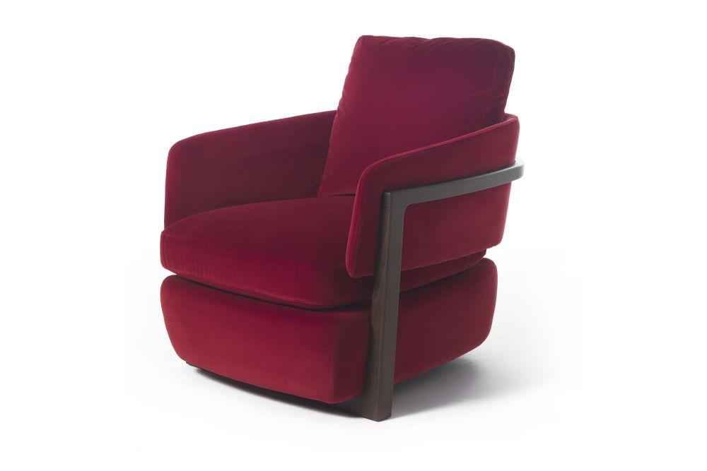Dorian 47, Matt Open Pore Iron Ral 7011,Porada,Armchairs,chair,club chair,furniture,red