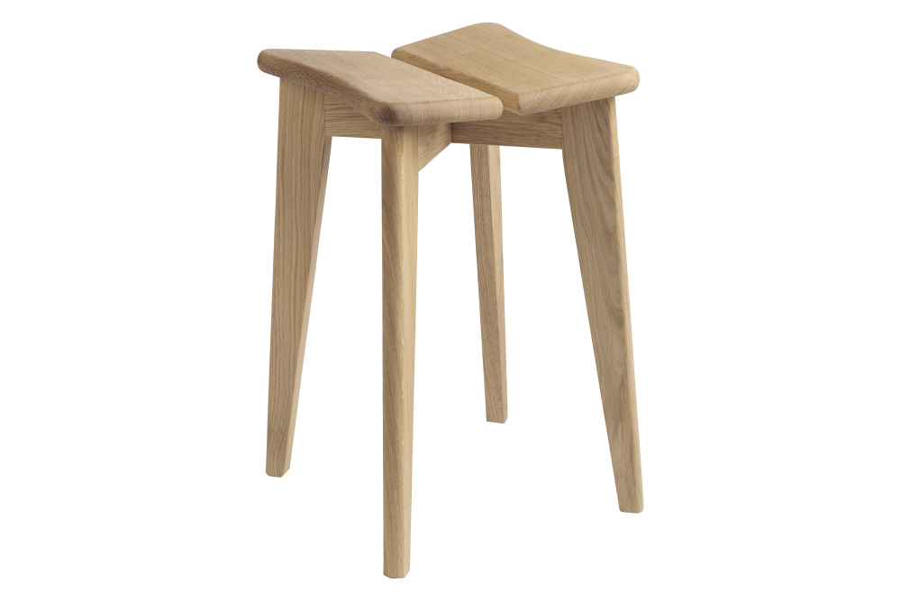 American Oilled Walnut,GUBI,Stools,bar stool,furniture,outdoor table,stool,table