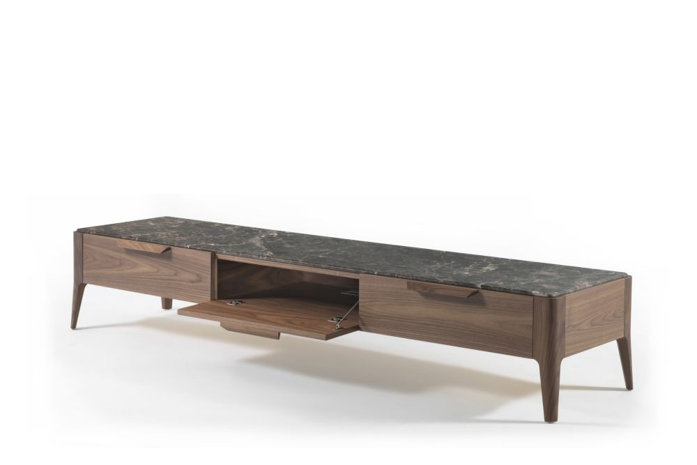 Canaletta Walnut, White Calacatta Oro,Porada,Decorative Accessories,coffee table,furniture,rectangle,sofa tables,table