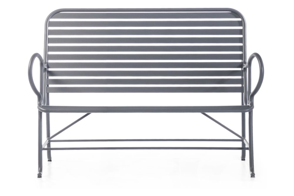 Gamma White G04,BD Barcelona,Outdoor Sofas,bench,chair,folding chair,furniture,line,outdoor bench,outdoor furniture