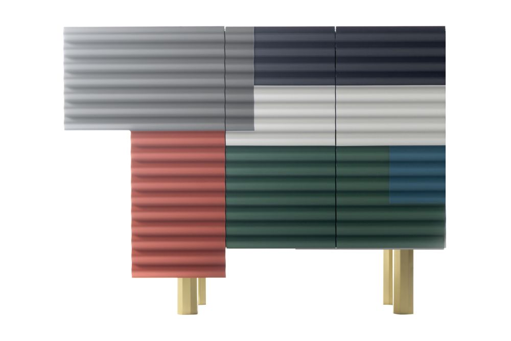 Winter,BD Barcelona,Cabinets & Sideboards,metal,rectangle,table
