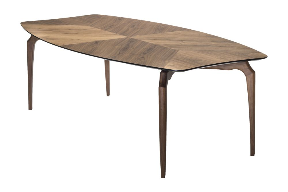 Black Wood Top, Ash - Natural Legs, 240,BD Barcelona,Tables & Desks,coffee table,furniture,outdoor furniture,outdoor table,rectangle,table,wood