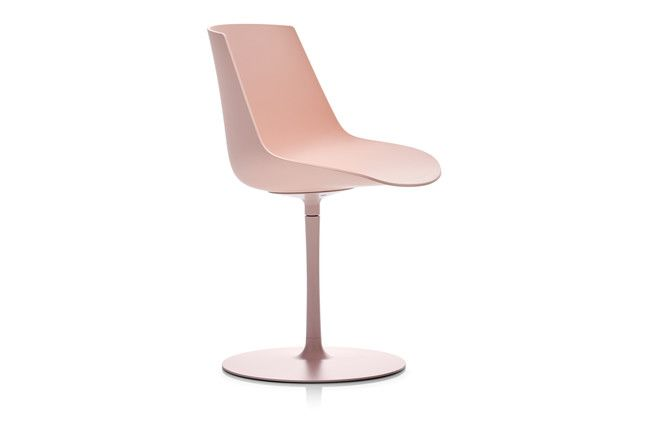 Flow Chair, Central Leg - Soft Touch by MDF Italia