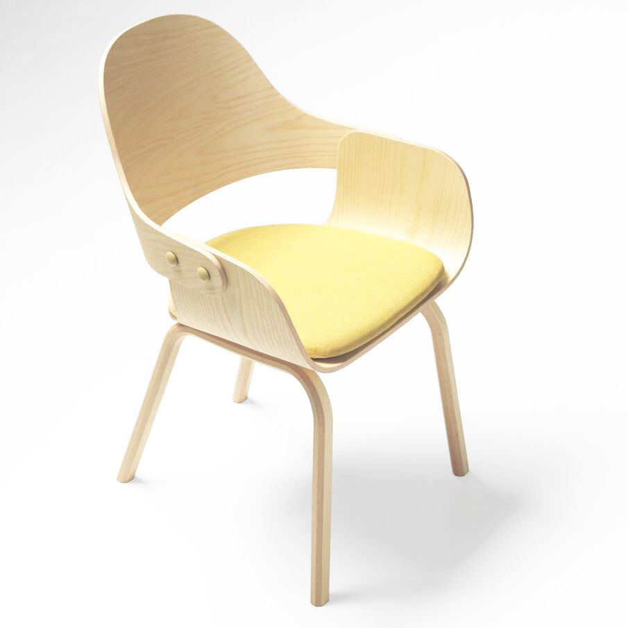 Natural Ash, Medley Beige Y01,BD Barcelona,Dining Chairs,beige,chair,furniture,product,wood