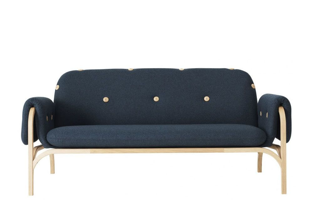 Oak Natural Lacquer, Main Line Flax Newbury,Swedese,Sofas,couch,furniture,studio couch