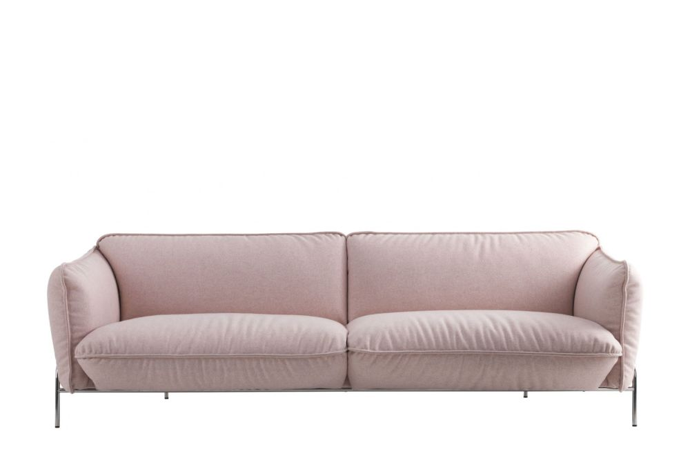 White Steel, Main Line Flax Newbury,Swedese,Sofas,beige,couch,furniture,leather,loveseat,room,sofa bed,studio couch