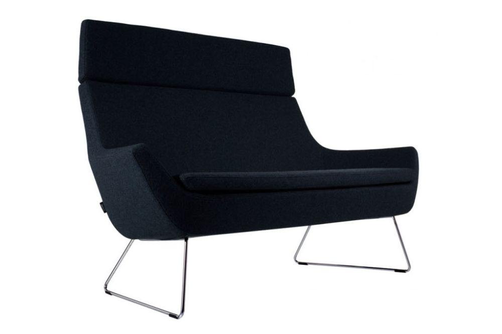 White Steel, Elmo Nordic 00105,Swedese,Sofas,black,chair,furniture