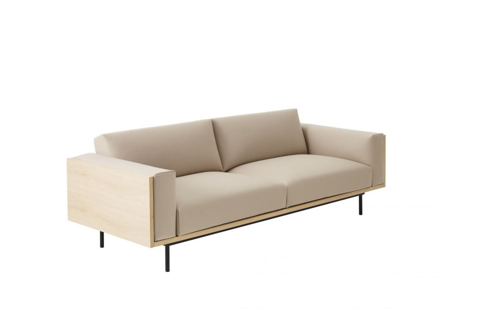 Wood 3-Seater Sofa by Swedese