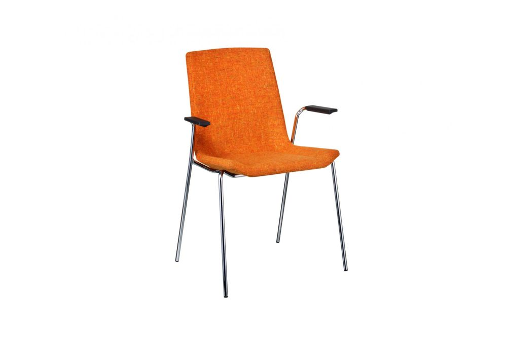 Happy Stackable Upholstered Armchair by Swedese