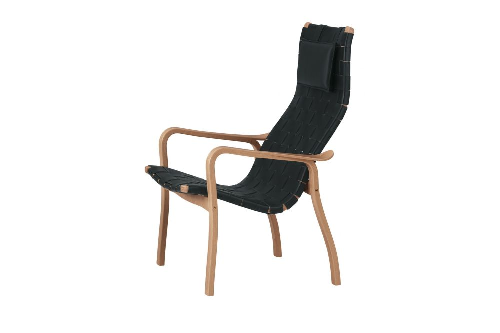 Oak Natural Lacquer, Webbing Natural,Swedese,Lounge Chairs,chair,furniture