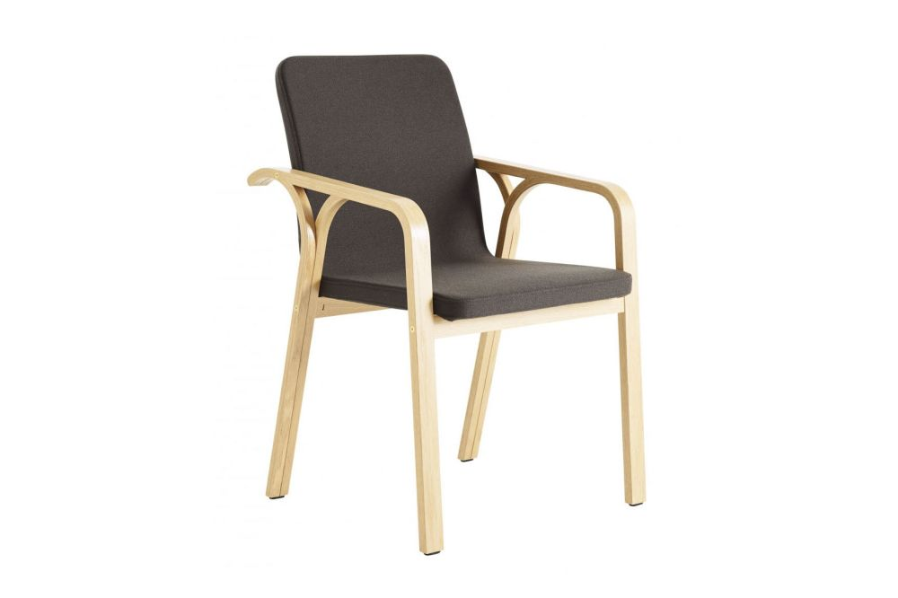 Oak Natural Lacquer, Main Line Flax Newbury,Swedese,Armchairs,armrest,chair,furniture,wood