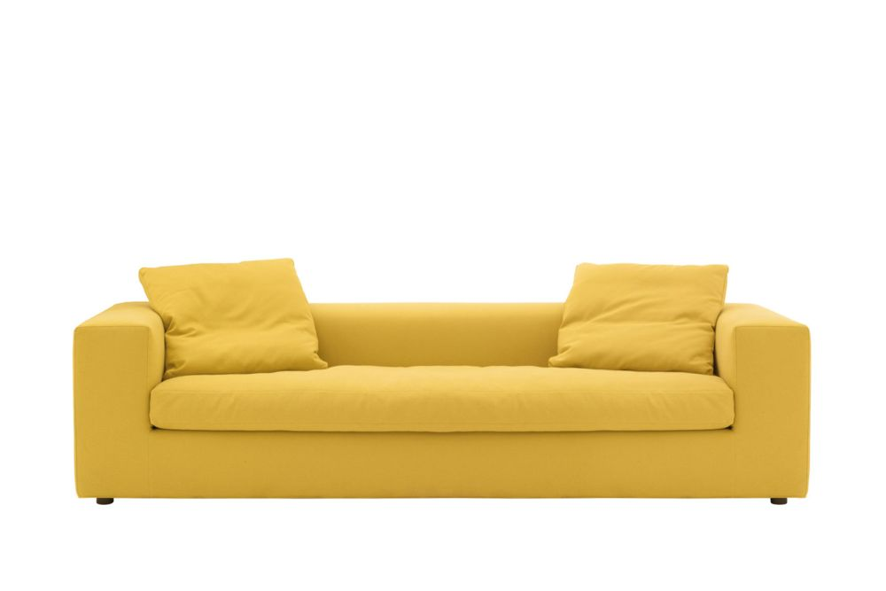 Phill 600, Feather, 230cm,Cappellini,Sofas,beige,couch,furniture,loveseat,sofa bed,studio couch,yellow