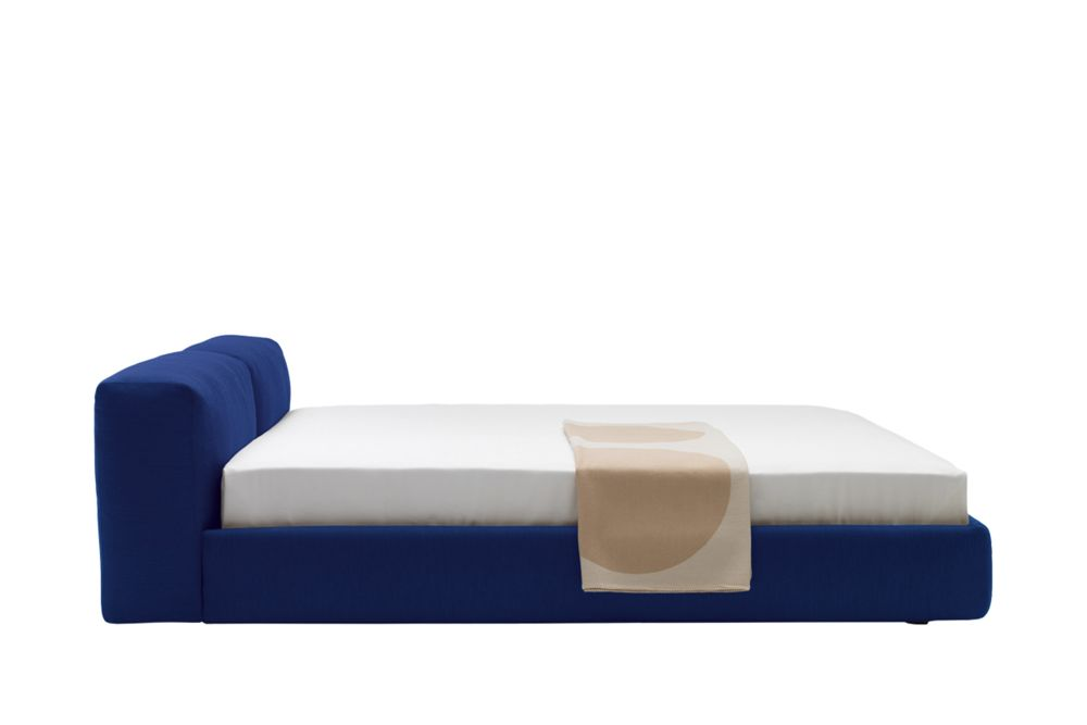 Phill 600, Cerniere Stitchings Turchese, 166cm,Cappellini,Beds,furniture,rectangle